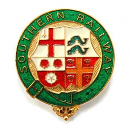 Southern Railway Coat of Arms Collectors Badge